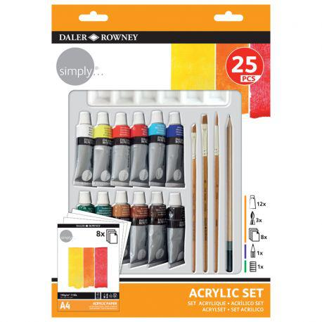 Simply 25-Piece Watercolour Set