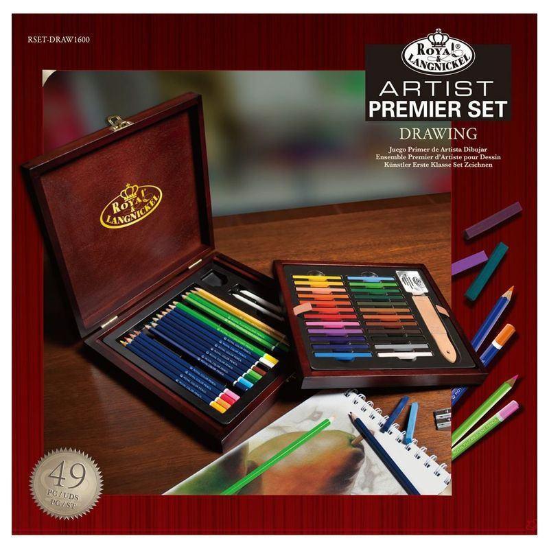 Artist Premier Set Painting Chest (80 Pieces)