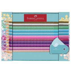 Sparkle Colour Pencil Tin (21 Pcs)