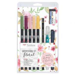 ABT Dual Brush Pen Set of 12 (Pastel Colours)