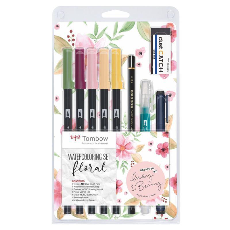 ABT Dual Brush Pen Set of 12 (Pastel Colours)