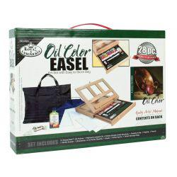 Oil Colour Easel Art Set With Easy To Store Bag