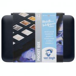 Van Gogh Watercolour Pocket Box: Metallic & Interference Colours