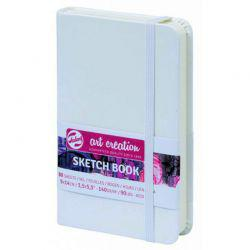 Art Creation Hardback Sketchbook: White (9 x 14cm)