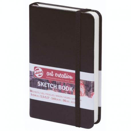 Art Creation Sketch Book: Black (9 x 14cm)