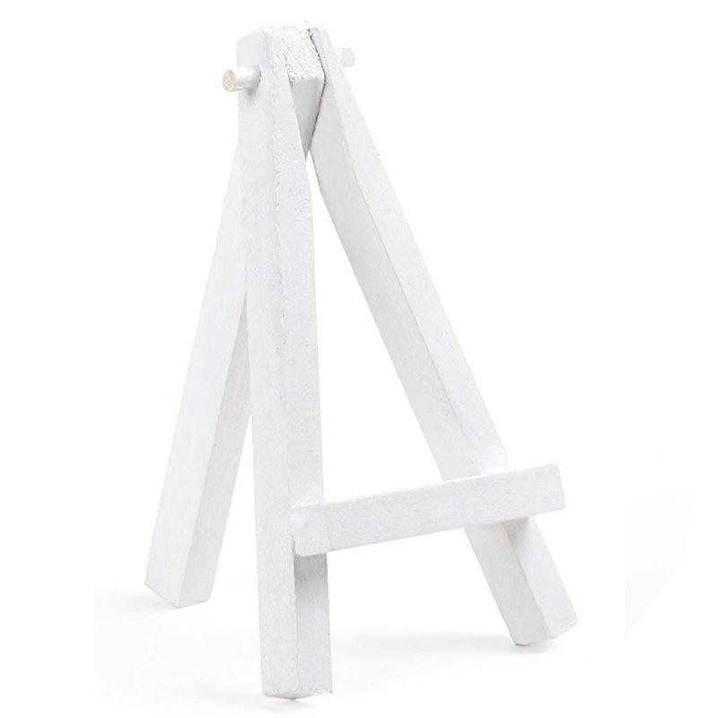 12cm Mini Easel: White