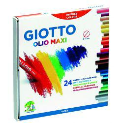 Giotto Olio Maxi Oil Pastel Set of 24