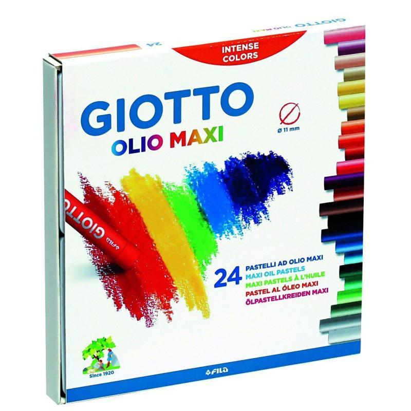 Giotto Olio Maxi Oil Pastel Set of 24
