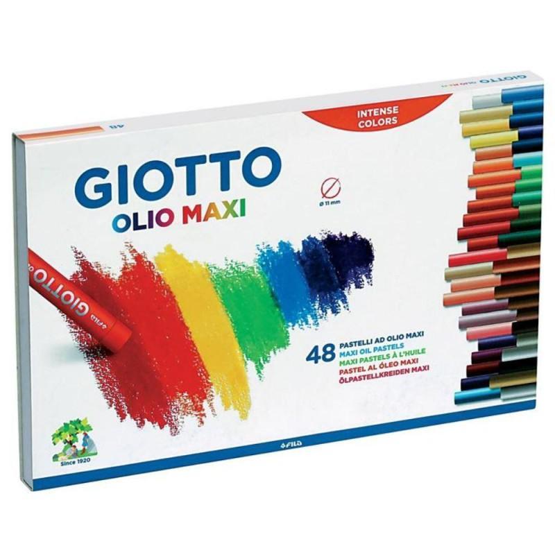 Giotto Olio Maxi Oil Pastel Set of 48