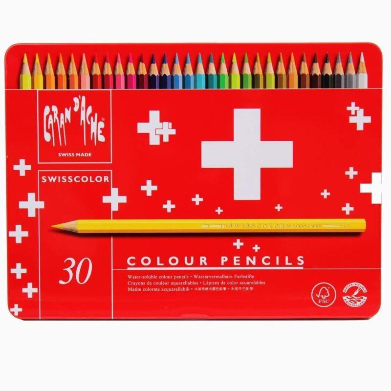 Swisscolor Pencil Tin of 30