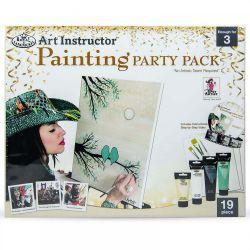 Art Instructor Painting Party Pack: Sweet Sisters