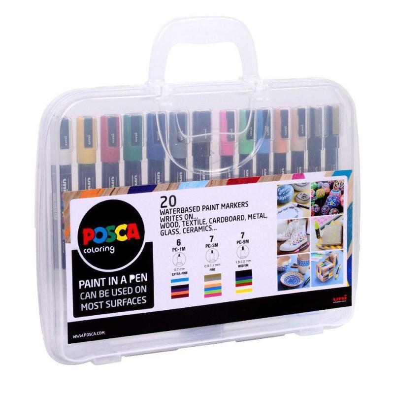 POSCA Paint Marker Case of 20
