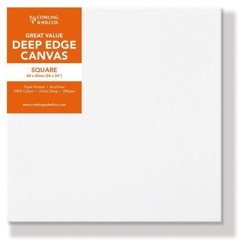 Premium Quality Square Deep Edge Canvas