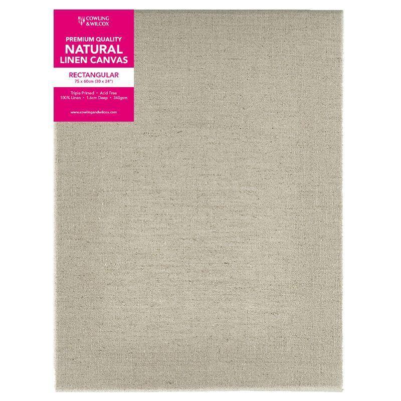 Premium Quality Natural Linen Canvas