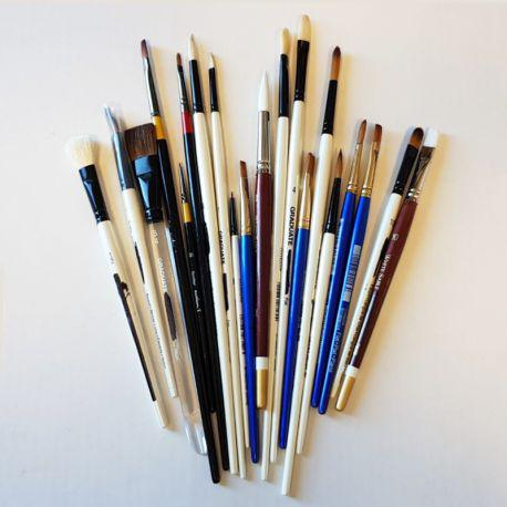Mixed Brush Collection of 21