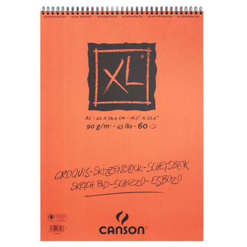 Canson XL Spiral Pads (90gsm)