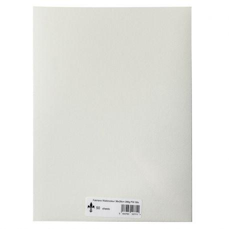 38 x 28cm Watercolour Paper Pack of 50 (280g)