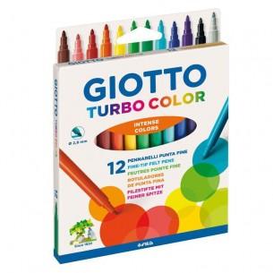 Giotto Turbo Colour Felt Tip Pen Sets