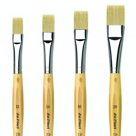 Vegan Junior 329 Flat Bristle Brushes