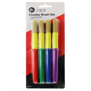 Chubby Brush Set of 4