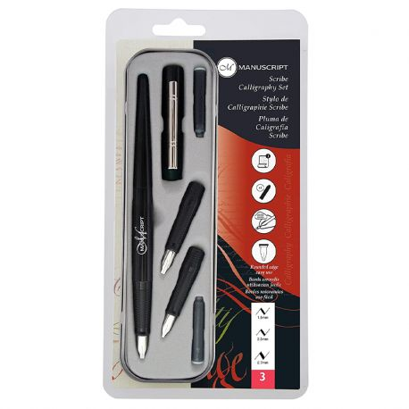 Scribe Calligraphy Set (3 Nibs)