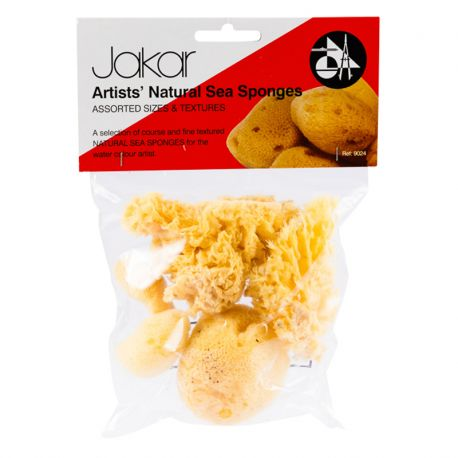 Artists' Natural Sea Sponges (Pack of 3
