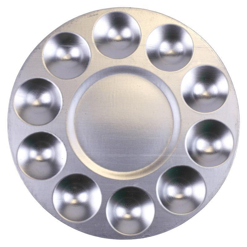 Round Aluminium Palette