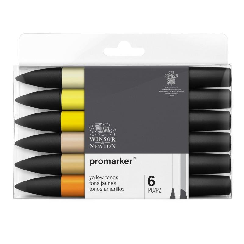 ProMarker Yellow Tones (Set of 6)