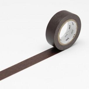 Washi Masking Tape Roll: Cocoa