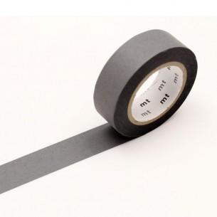 Washi Masking Tape Roll: Matte Gray