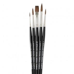 Scholar Sablene Vegan Flat 38WA Brush Set