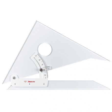 Aristo Adjustable Set Square (25cm)