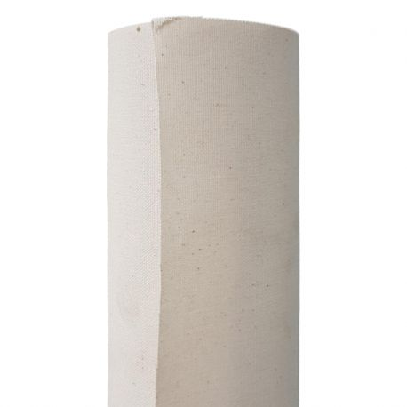 Natural Primed Cotton Canvas Roll: 350gsm/12oz (1.2 x 10m)