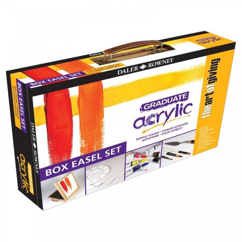 Graduate Acrylic Box Easel Set