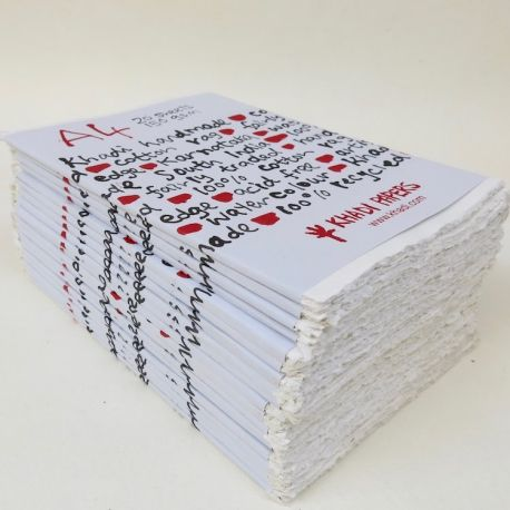 150gsm White Rag Papers (Pack of 20)
