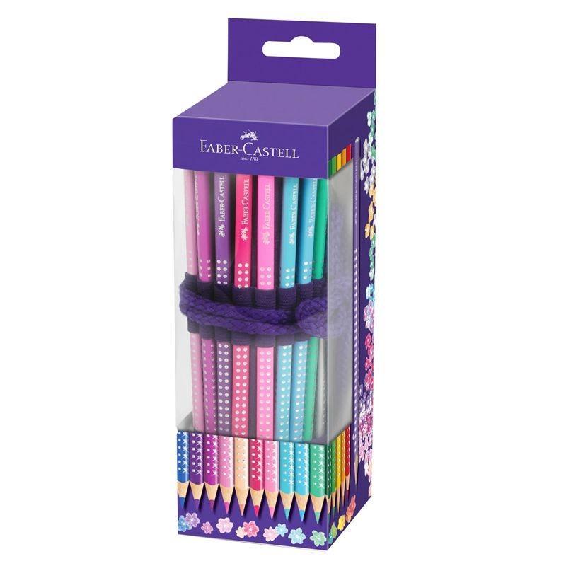 Sparkle Colour Pencil Roll Up Case