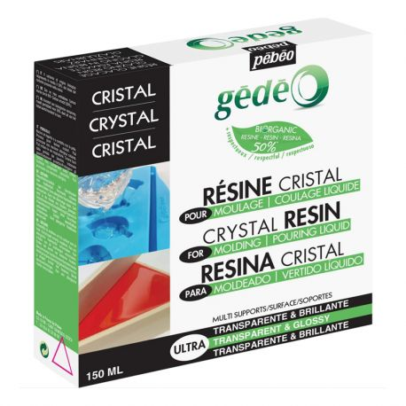 Gedeo Bio-Based Crystal Resin