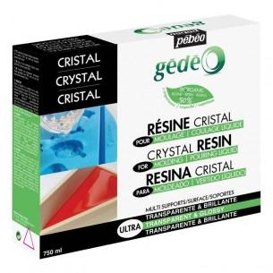 Gedeo Bio-Based Crystal Resin (750ml)