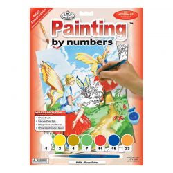 Junior Painting By Numbers Set: Flower Fairies