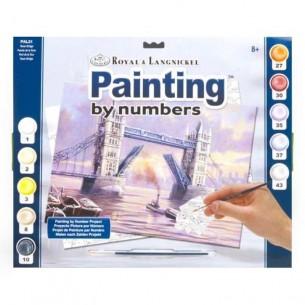 Adult Painting By Numbers Set: Tower Bridge