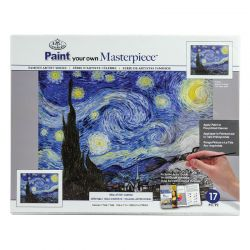 Masterpiece Painting By Numbers Set: Starry Night