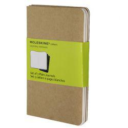 Moleskine Cahier Journals 3 Pack Pocket