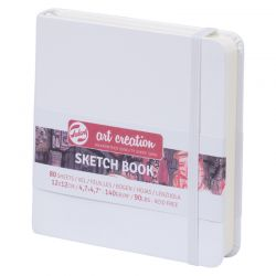 Art Creation Sketch Book: White (12 x 12cm)