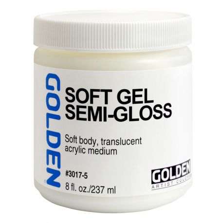 Soft Gel: Semi-Gloss (237ml)