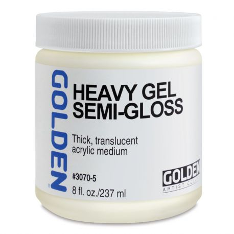 Heavy Gel: Semi-Gloss (237ml)