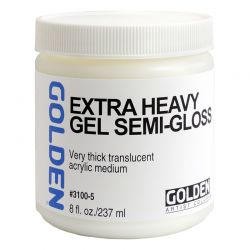 Extra Heavy Gel: Semi-Gloss (237ml)