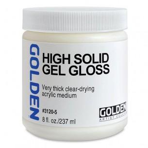 High Solid Gel: Gloss (237ml)