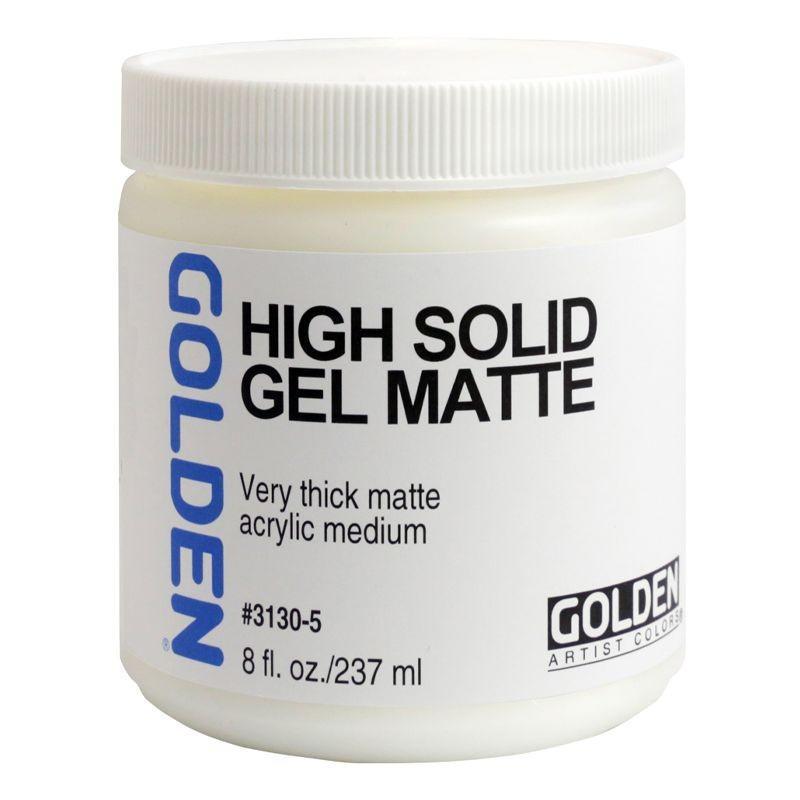 High Solid Gel: Matte (237ml)