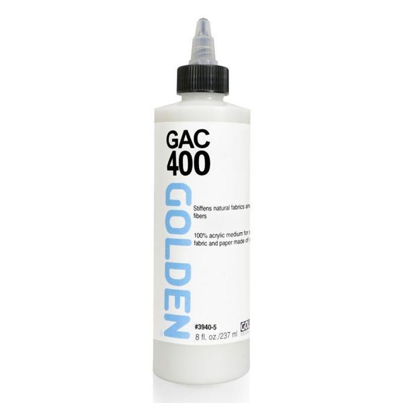 GAC 400: Acrylic Polymer Fabric Stiffener (237ml)