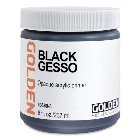 Black Gesso (237ml)